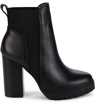 Steve Madden Chelsea Leather Boots