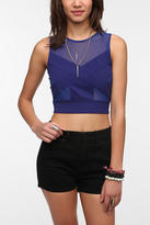 Sheer Illusion Cropped Top