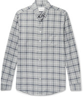 Steven Alan - Button-down Collar Checked Brushed-cotton Shirt