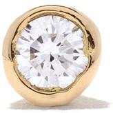 Wouters & Hendrix Gold 18kt gold diamond stud single earring