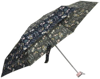 totes Compact Flat Flower Umbrella