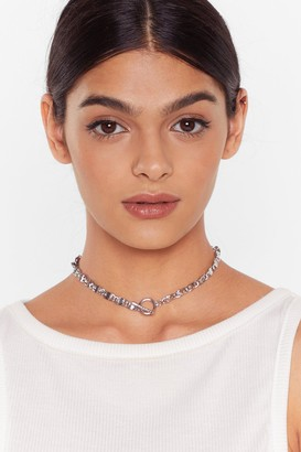 Nasty Gal Womens Chain-ge the Game Chain Necklace - Grey - ONE SIZE, Grey