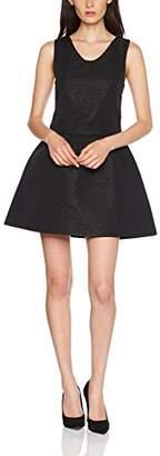 Teddy Smith Women's Ruban Party Dress, (Black)