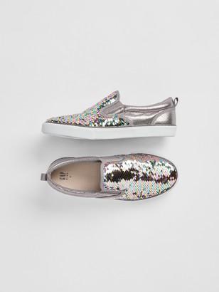 Gap Kids Fippy Sequin Slip-On Sneakers