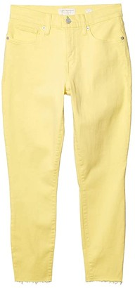 Lucky Brand Mid-Rise Ava Skinny Ankle Jeans in Mellow Yellow (Mellow Yellow) Women's Jeans