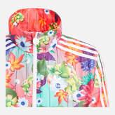 adidas Girls' Floral Windbreaker Jacket