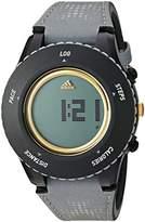 adidas 'Sprung' Quartz Plastic and Cloth Watch, Color:Grey (Model: ADP3252)