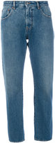 MM6 MAISON MARGIELA cropped mid denim jeans - women - Cotton/Polyester - 40