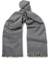 Lanvin - Puppytooth Wool Scarf