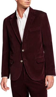Brunello Cucinelli Men's Velvet Sport Coat
