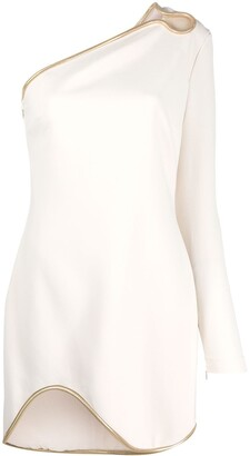 Stella McCartney Dianna one-shoulder mini-dress