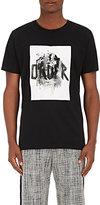 """Public School Men's """"Order"""" Cotton T-Shirt-BLACK"""