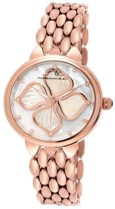 Porsamo Bleu Women's Blair Diamond Accented Watch, 38mm