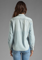 7 For All Mankind Classic Denim Shirt