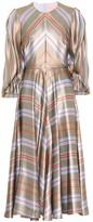 Roksanda Fife silk satin maxi dress