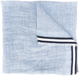 Canali frayed edge scarf - men - Silk/Linen/Flax - One Size