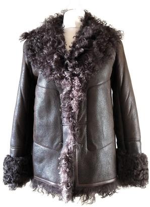 Celine Brown Leather Jacket for Women Vintage