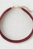 American Eagle Outfitters AE Burgundy Wide Suede Choker