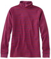 L.L. Bean Bean's Interlock Turtleneck, Stripe