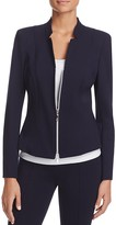 Basler Fitted Notched Blazer