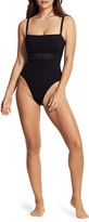 Seafolly Active Zigzag Underwire One-Piece Swimsuit