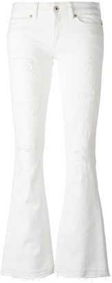 Dondup low-rise flared jeans