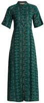 Ace&Jig Ballad button-through cotton-blend maxi dress