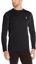U.S. Polo Assn. Men's Performance Long-Sleeve T-Shirt