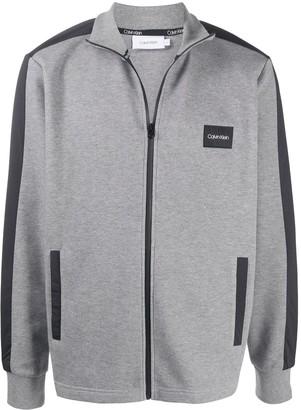 Calvin Klein Zip Front Sweatshirt