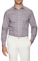James Tattersall Gingham Dress Shirt