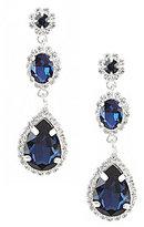 Cezanne Triple-Drop Statement Earrings