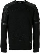 Philipp Plein embroidered sweatshirt - men - Cotton/Polyester/Polyurethane - M