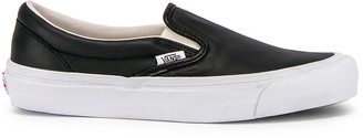 Vans OG Classic Slip-On LX in Black | FWRD