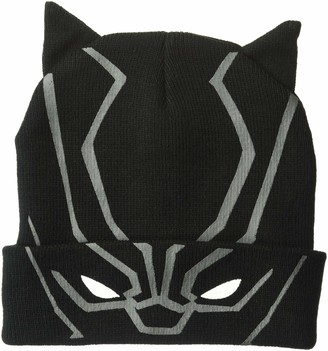 Marvel Men's Black Panther Winter Beanie