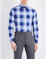Tom Ford Western Checked Regular-fit Cotton Shirt