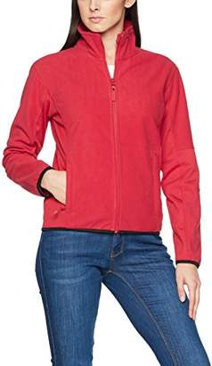 James Harvest Women's Sarasota Full Zip Fleece Jacket Plain Turtleneck Long Sleeve Jacket,(Manufacturer Size:XXL)