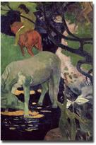 White Horse Trademark Fine Art 30 in. x 47 in. The 1898 Canvas Art