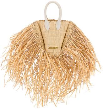 Jacquemus Le Petit Baci Bag in Natural | FWRD