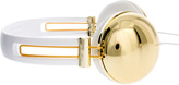Asos Metallic Gold Headphones