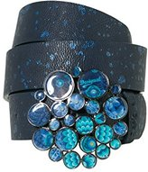 Desigual Women's Cint_aro Metal Splatter Belt