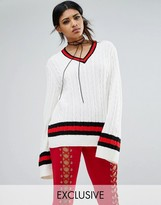Bones Oversized Cricket Jumper