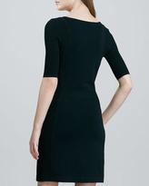 Theory Julialynn Fitted Ponte Dress