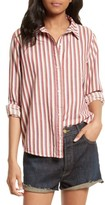 The Great Women's The Campus Stripe Shirt