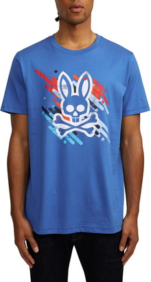 Psycho Bunny Florio Graphic T-Shirt