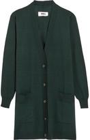 MM6 MAISON MARGIELA Wool Cardigan - Forest green