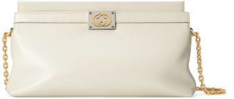 Gucci Leather medium shoulder bag with Interlocking G