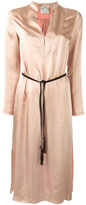 Forte Forte belted dress - women - Cupro/Viscose - I