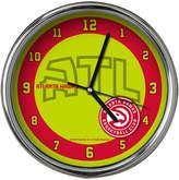 Memory Company Atlanta Hawks Chrome Clock