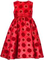 Rare Editions Girls Dress, Little Girl Glitter Dot Dress