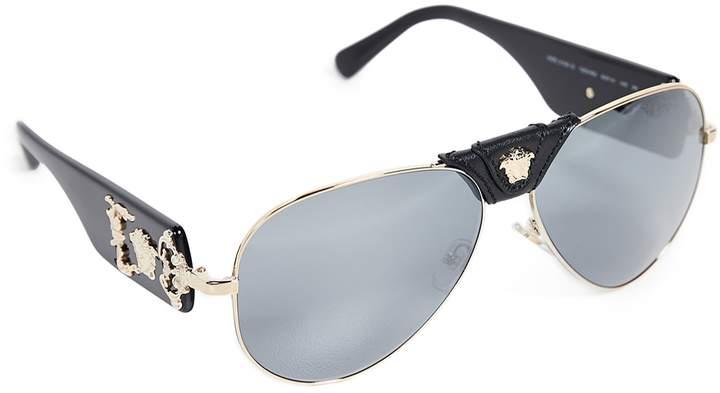 fa135b9a65cef Versace Gold Men s Eyewear - ShopStyle